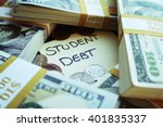 student debt stock photo | Shutterstock . vector #401835337