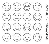 emoji faces simple icons