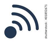 radio antennae   wireles icon | Shutterstock .eps vector #401852671