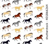 vector seamless pattern with... | Shutterstock .eps vector #401866264