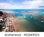 aerial view of porto de... | Shutterstock . vector #401869021