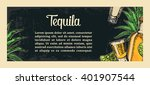 mexican traditional food... | Shutterstock .eps vector #401907544