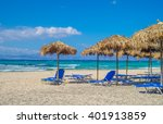 chrisi  chrysi  island beach... | Shutterstock . vector #401913859