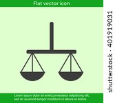 vector scales balance icon   Shutterstock .eps vector #401919031