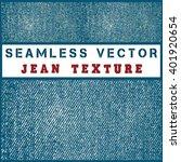 seamless vector jean texture | Shutterstock .eps vector #401920654
