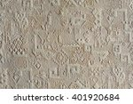 texture pattern embossed on... | Shutterstock . vector #401920684