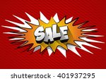 creative abstract sale design... | Shutterstock .eps vector #401937295
