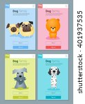 animal banner with dogs for web ...   Shutterstock .eps vector #401937535