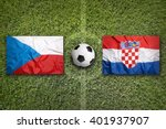 czech republic vs. croatia... | Shutterstock . vector #401937907