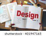design drawing outline planning ... | Shutterstock . vector #401947165