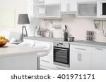 modern kitchen interior | Shutterstock . vector #401971171