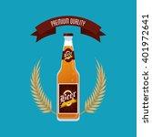 beer icon design   vector... | Shutterstock .eps vector #401972641