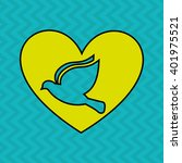 bird icon design  | Shutterstock .eps vector #401975521