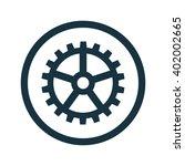 vector illustration of gear icon | Shutterstock .eps vector #402002665