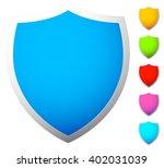 bright shield icon templates