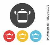 pot icon | Shutterstock .eps vector #402046171