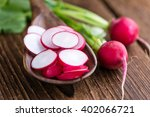 Sliced Radishes  Selective...