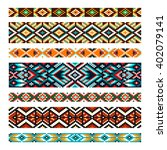 beading design  tribal  design  ... | Shutterstock .eps vector #402079141