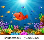 under the sea | Shutterstock .eps vector #402080521