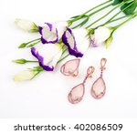 Jewelry Ring And Earrings With...