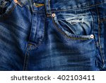 Blue Jeans With Pocket....