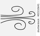 wind icon  flat weather design  ...