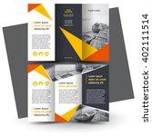 brochure design  brochure... | Shutterstock .eps vector #402111514