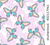 Fashion Butterflies Pattern....
