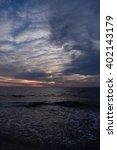 cloudy sunset | Shutterstock . vector #402143179