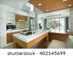 home interior design | Shutterstock . vector #402145699