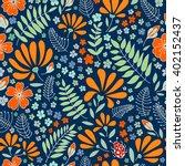 the original flower floral... | Shutterstock .eps vector #402152437