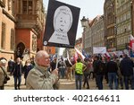 wroclaw  poland   april 03 ... | Shutterstock . vector #402164611