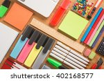 School Office Supplies On A...