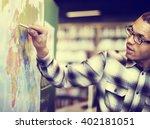 teacher teach teaching... | Shutterstock . vector #402181051