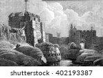 Carlisle Castle  Vintage...