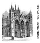 Peterborough Cathedral  Vintag...
