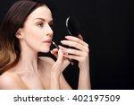 makeup  lip makeup.woman... | Shutterstock . vector #402197509