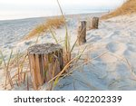 Remains Of Wooden Pillars Of A...