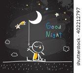Good Night Vector Illustration...