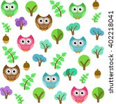 vector pattern illustration of... | Shutterstock .eps vector #402218041