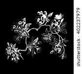 leaves isolated tree wallpaper... | Shutterstock .eps vector #402237979