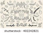 ink illustration.hand drawn...   Shutterstock .eps vector #402242821