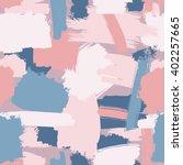 vector seamless grunge brush... | Shutterstock .eps vector #402257665