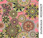 art vintage stylized geometric... | Shutterstock . vector #402260629