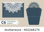 template congratulatory... | Shutterstock .eps vector #402268174