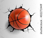 sport vector illustration with... | Shutterstock .eps vector #402272449