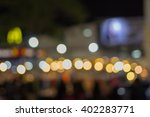 the many blurred of the lamps | Shutterstock . vector #402283771