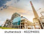 a coal power plant   Shutterstock . vector #402294001