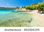 amazing adriatic sea with...   Shutterstock . vector #402304195