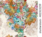 seamless texture of mixed... | Shutterstock . vector #402315259